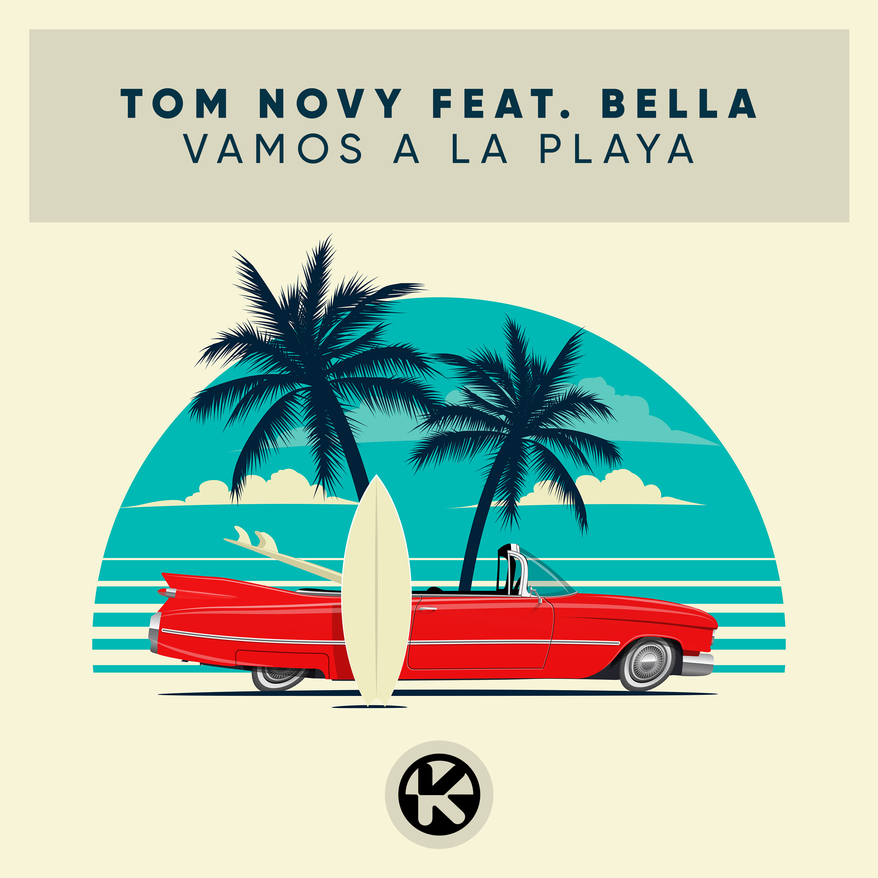 Cover Tom Novy feat. Bella   Vamos a la Playa